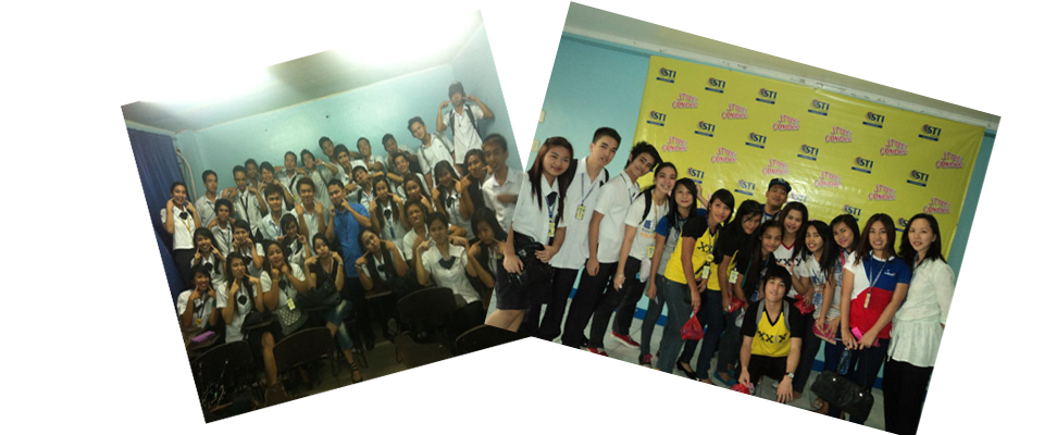 IT201P Class Picture With Mr. Dennis Nava /& Student Convergence  Picture with Ms. Blenda Bensurto.